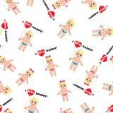 Babytextuur Stock Afbeelding