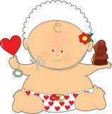 babyvalentines Royaltyfri Bild