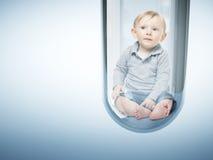 Babyverwezenlijking Royalty-vrije Stock Afbeeldingen