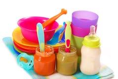 Babyvoeding Royalty-vrije Stock Fotografie