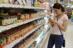 Babyvoedsel Royalty-vrije Stock Afbeeldingen