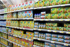 Babyvoedsel Royalty-vrije Stock Foto