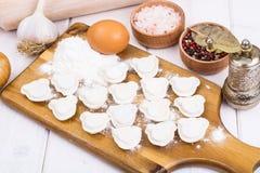Babyvoedsel, eigengemaakte ravioli voor kinderen Royalty-vrije Stock Foto's
