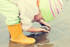 Babywäschen Stockfotografie