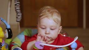 Babywanderer stock video footage