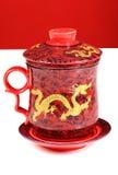 Bac chinois de thé Photos libres de droits