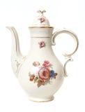 Bac décoratif de thé Photo stock