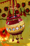 Bac décoratif fabriqué à la main Photographie stock
