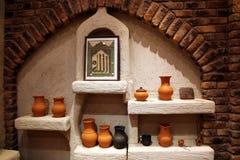 Bac d'argile arabe traditionnel photos libres de droits