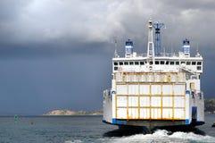 bac de bateau Photographie stock libre de droits