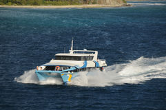 bac de bateau Images libres de droits