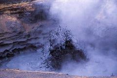 Bac de boue, Namafjall, Islande Photo stock