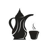 Bac de café Arabe Images libres de droits