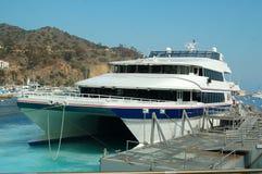 Bac de catamaran Image libre de droits