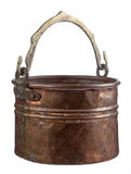 Bac de cuivre Photographie stock libre de droits