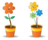 Bac de fleur illustration stock
