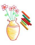 bac de fleur image libre de droits