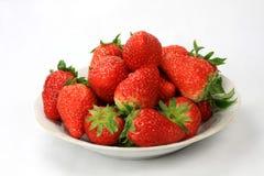 Bac de fraise Photos stock