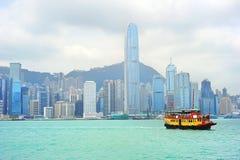 Bac de Hong Kong photographie stock libre de droits