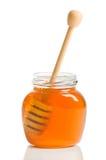 Bac de miel Image libre de droits