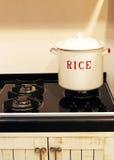 Bac de riz images stock