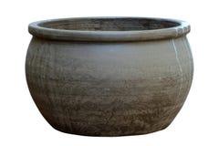 Bac de terre cuite Images stock