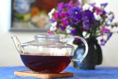 Bac de thé photos stock