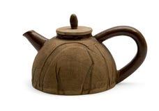 Bac de thé d'argile Images libres de droits