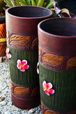 Bac en céramique, vase Image stock