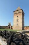 Bac-fästning, Serbien, Europa Arkivfoto