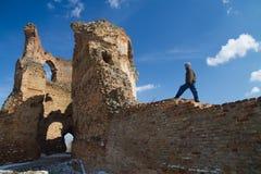 Bac forteca w Serbia Fotografia Royalty Free
