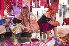 Bac Ha Market Royalty Free Stock Images