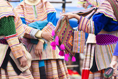 Bac Ha market in Vietnam Stock Images