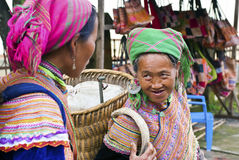 Bac Ha market in Vietnam Royalty Free Stock Images