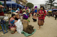 Bac Ha Sunday Market (1) Stock Image