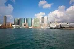 bac Hong Kong Photographie stock