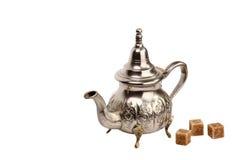 Bac marocain de thé Images stock