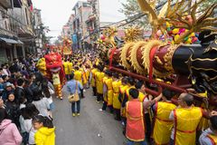 Bac Ninh, Vietnam - Jan 31, 2017: Dong Ky traditional spring festival, a special ritual of the Dong Ky festival used to be the set Stock Photo