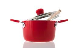 Bac pour la cuisson Images libres de droits