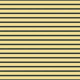 BAC strutturato a strisce orizzontale sottile del tessuto di giallo e dei blu navy Fotografie Stock