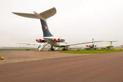 BAC Super VC10, g-ASGC, Vickers VC10, Duxford IWM royalty-vrije stock foto's