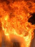 Bac sur l'incendie Photos libres de droits