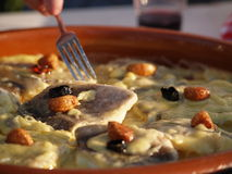 Bacalao al pil-pil Stock Photo