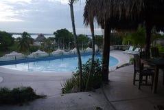 Bacalar Holidays Mexico beach hotel summer Royalty Free Stock Photos