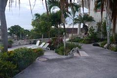 Bacalar Holidays Mexico beach hotel summer Royalty Free Stock Photography