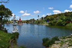 BacalhÃ'a菩萨伊甸园, Bombarral,葡萄牙 库存照片