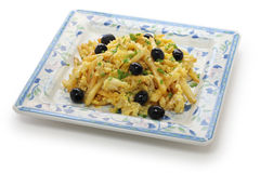 Bacalhau a bras, portuguese cuisine Stock Photo