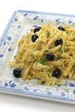 Bacalhau a bras, portuguese cuisine Stock Photography