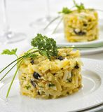 Typical dish from Portugal. Bacalhau a bras, typical dish from Portugal Stock Photography