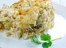 Bacalhau com natas Stock Photo
